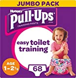 Huggies Pull-Ups Girl's Potty Training Pants, 1-2.5 Years, (68 Pants)