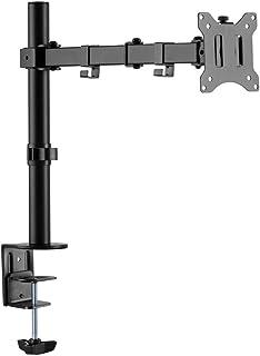 LogiLink BP0097 - Aluminium monitor bureauhouder voor 17-32 inch (LCD, LED, OLED, ...), 360°, armlengte = 454mm
