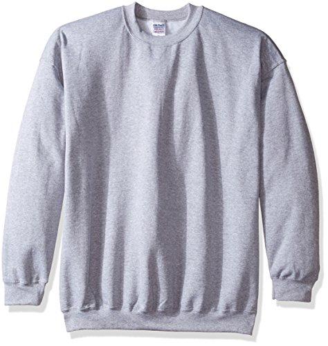 Gildan Herren Sweatshirt Heavy Blend Crewneck Grau Sport Grey XXL