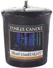 Yankee Candle Droom Summer Night (Dreamy Summer Night) Votiefkaars Sampler, plastic, zwart, 4,5 x 4,5 x 5,3 cm