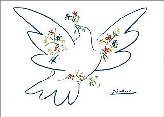 Weihnachtsmann Kunstkarte Pablo Picasso