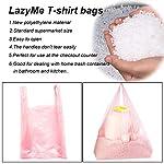 T-Shirt-Bags-Pink-Plastic-Bags-with-Handles-Bulk-Bolsas-De-Plastico-Para-Negocio-Grocery-Bags-Retail-Shopping-Bags-Merchandise-Bags-for-Supermarket-Restaurant-12x20inch-100pcs