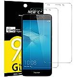 NEW'C Lot de 2, Verre Trempé Compatible avec Huawei Honor 5C, Film Protection écran sans Bulles d'air Ultra Résistant (0,33mm...