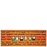 Laroom Alfombra, Vinylic Flooring PVC - Antislip, Naranja