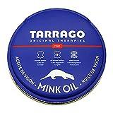 [タラゴ] 革を柔軟にし防水効果を高める ミンクオイル 100ml 靴磨き ジャケット バッグ アウトドアー ライダース メンズ