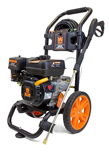 WEN PW3100 3100 PSI 2.5 GPM 208cc Gas Pressure Washer, CARB...