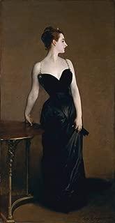 Berkin Arts John Singer Sargent Giclee Canvas Print Paintings Poster Reproduction Large Size(Portrait Madame X)