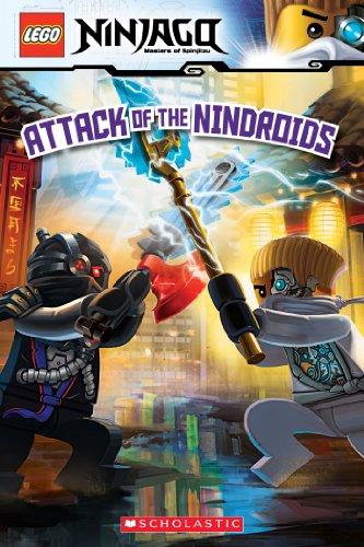 Attack of the Nindroids (LEGO Ninjago: Reader) (LEGO Ninjago Reader Book 8)...