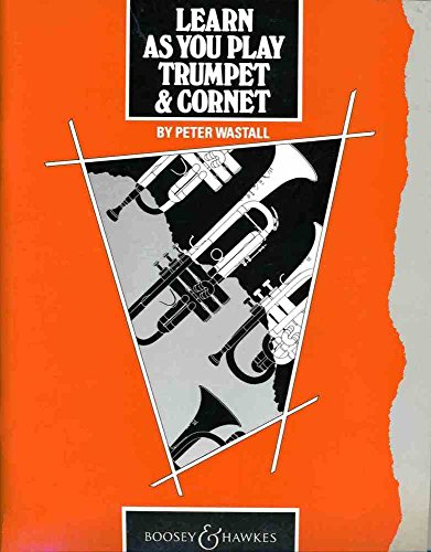 Learn As You Play Trumpet. Trompete