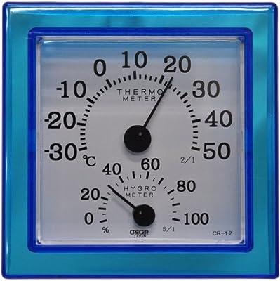 室内用 温度・湿度計 CR-12BD