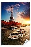 Postereck - Poster 2633 - Eiffelturm, Paris Architektur