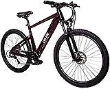 CASTOR Bicicleta electrica Bicicleta eléctrica 27.5 en Bicicleta de montaña eléctrica Velocidad máxima 32 km/h con 36V 10.4AH Batería de Litio de 250W para Viajes de Ciclismo al Aire Libre.