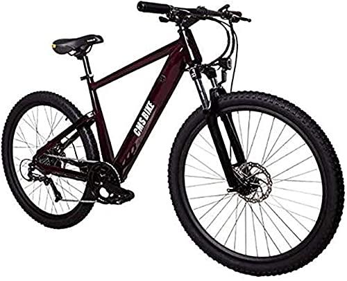 CASTOR Bici elettriche Bike elettrica 27.5 in Mountain Bike elettrica velocità Massima 32 km/h con 36v 10.4ah 250w Batteria al Litio per Il Ciclismo all'aperto Viaggio