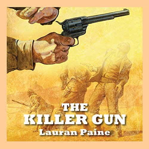 The Killer Gun audiobook cover art
