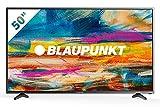 Blaupunkt Televisor Smart TV LED 50' - 50 pulgadas 4K Ultra HD UHD Wifi - BLA-50/405V-GB-11B4-UEGBQPX-EU, sonido JBL, Negro