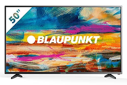 Blaupunkt Televisor Smart TV LED 50  - 50 pulgadas 4K Ultra HD UHD Wifi - BLA-50 405V-GB-11B4-UEGBQPX-EU, sonido JBL, Negro
