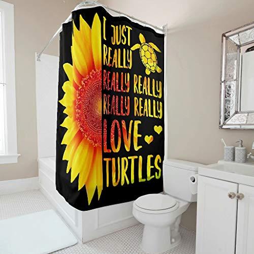 Bestwe Geruchsneutral umweltfre&lich Duschvorhang-Set Stoff Stoff Badezimmerdekor mit verstärkten Knopflöchern & Haken für Kinder Badezimmer Maschinenwaschbar White 200x200cm