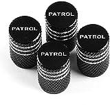 Coche Neumáticos Tapas Válvulas para Nissan Patrol, Prueba Polvo Caps Impermeable Duradero Antirrobo Decoración Accesorio