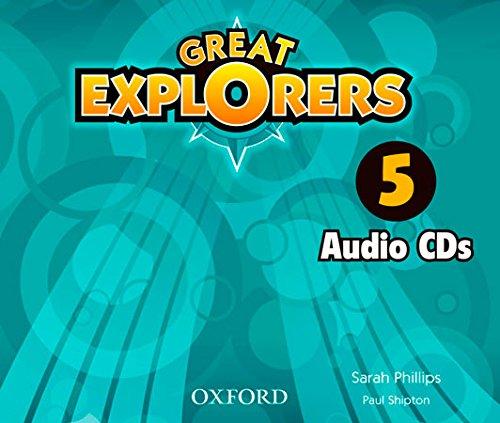 Great Explorers 5: Class CD (3) - 9780194507844