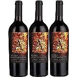 Apothic Inferno Rotwein Cuvée Wein trocken Kalifornien (3 Flaschen)
