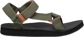 CUSHIONAIRE Women's Summer Yoga Mat Sandal with +Comfort Khaki, 6