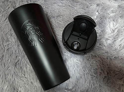 海外限定StarbucksEtchedtumbler473mlスターバックスエッチングTOGOロゴステンレスタンブラー*海外直配送*(ブラック)