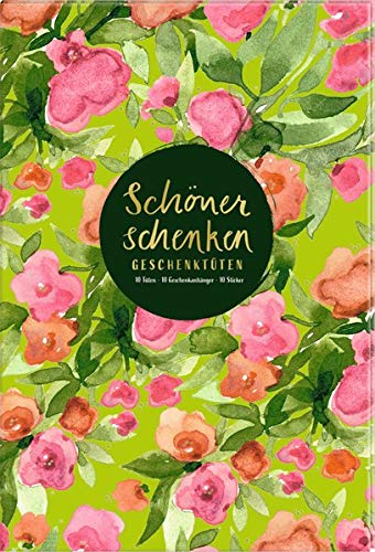 Geschenktüten-Buch - Frühling im Herzen - Schöner schenken