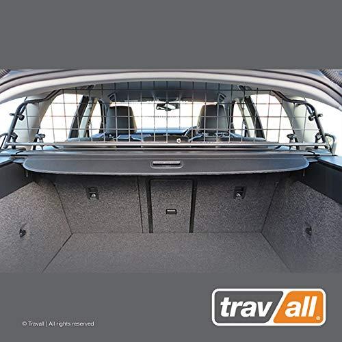 Travall Guard Hundegitter Kompatibel Mit Skoda Octavia Kombi (2012-2020) Scout (2014-2020) TDG1471 - Maßgeschneidertes Trenngitter in Original Qualität