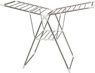 Iris Ohyama, Séchoir à linge sur pied pliable, étendue de 15 m intérieur ou extérieur - Multifunction Clothes Rack KTM-157...