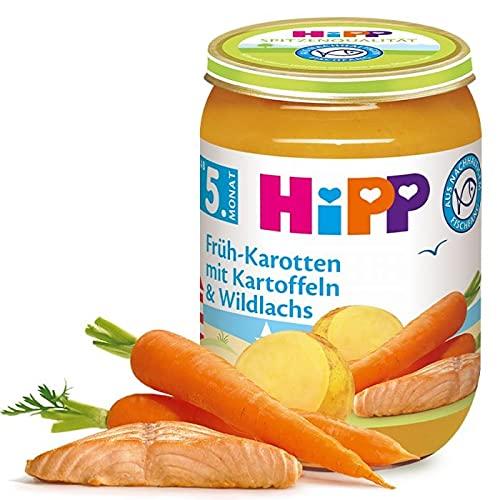HiPP Früh-Karotten mit Kartoffeln und Wildlachs Babynahrung