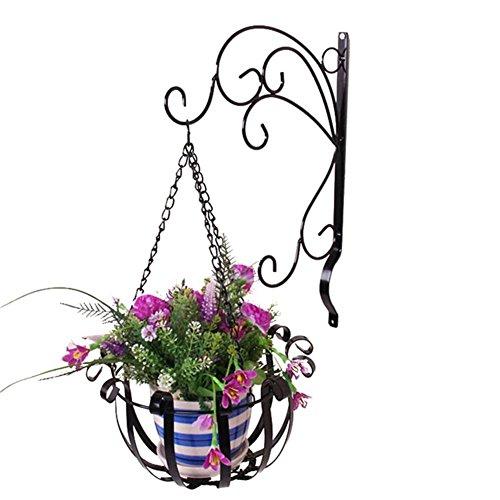 Jardinière Murale,Panier De Fleurs Mural,Jardinière en Fer– Idéal pour des Plantes Succulentes, des Plantes Aériennes, des Mini Cactus,