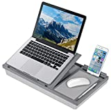 LapGear Ergo Pro Lap Desk with 20 Adjustable Angles, Mouse Pad, and Phone