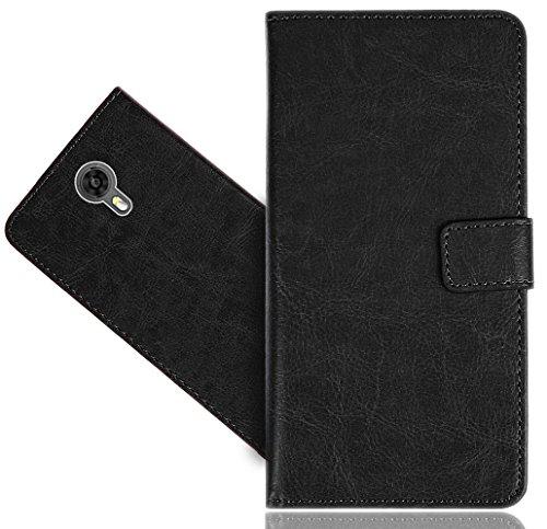 Ulefone Power 2 Handy Tasche, FoneExpert® Wallet Hülle Cover Genuine Hüllen Etui Hülle Ledertasche Lederhülle Schutzhülle Für Ulefone Power 2