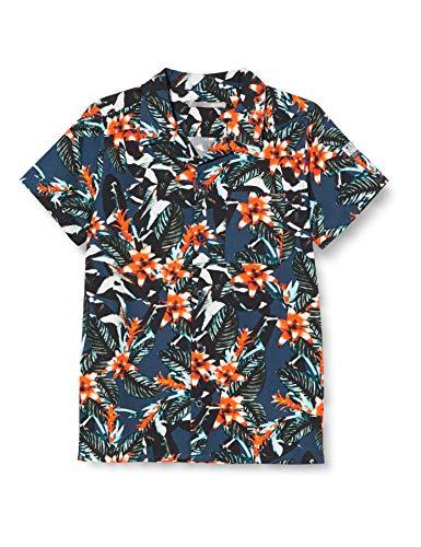 Mexx Jungen 951123 Hemd, Mehrfarbig (Allover Print 318803), (Herstellergröße: 164)