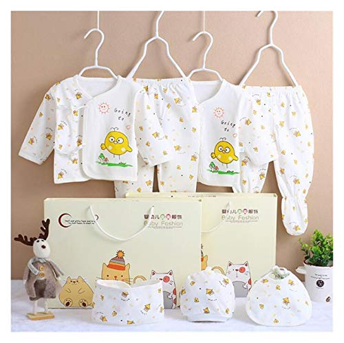 GuanRen Ropa recién Nacida se Adapta al algodón para niños Conjuntos de Ropa de niños Conjuntos de Primavera de otoño SBDDLER SOBD 7pcs / Set (Color : CJM036Y, Size : Newborn)