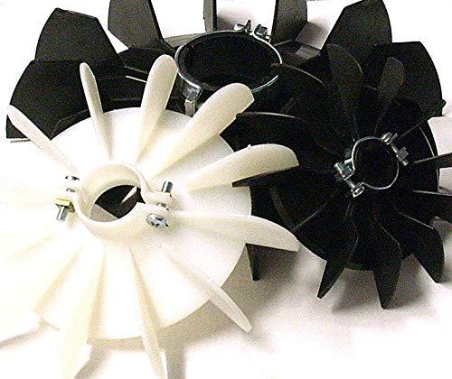 Ventiladores para motores eléctricos D=72mm d=10mm H=16mm