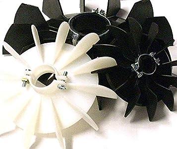 Ventiladores para motores eléctricos D=117mm d=14mm H=21mm