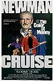 Unbekannt Die Farbe des Geldes Vintage Film Poster Paul