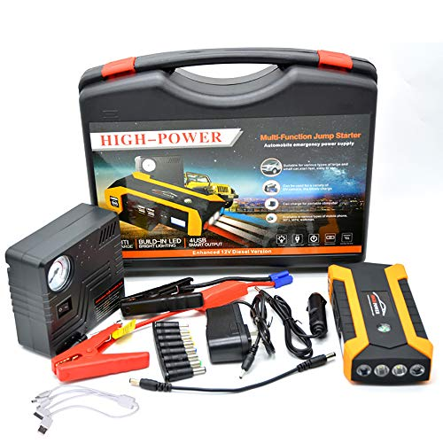 Cheap LIDAUTO Car Emergency Power Portable Jump Starter Multi-Function High Capacity 4USB Supply Cha...