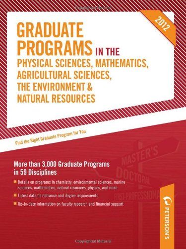 Graduate Programs In The Physical Sciences Mathematics Agricultural Sciences The Environment Natural Resources