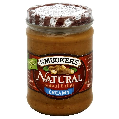 Smucker#039s Natural Peanut Butter Creamy 16 oz Pack of 6