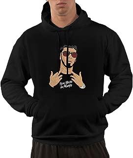 Anuel AA Real Hasta la Muerte Adult Sweatshirt Pullover Hoodies for Men