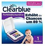 Clearblue Kinderwunsch Fertilitätsmonitor: Zykluscomputer für Eisprung mit Schwangerschaftsteststreifen