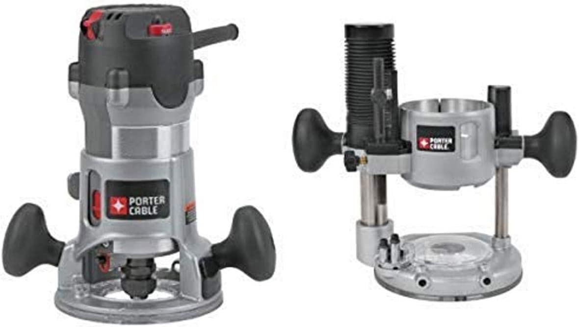 PORTER-CABLE 892 Plunge Router – Perfect for DIY/ Woodworking