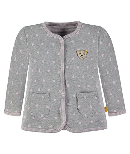 Steiff Collection Unisex Sweatshirt Sweatjacke Wendbar 6836713, Rosa (Ballerina 2096), 68