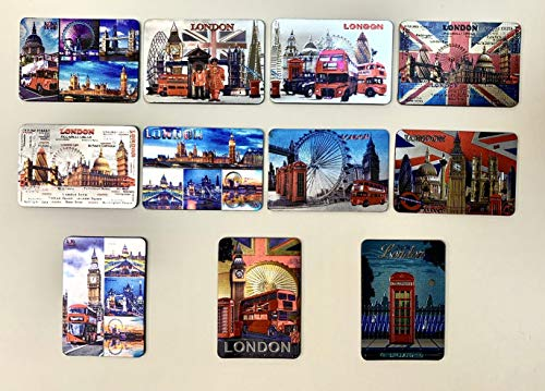 FRIDGE MAGNET London British souvenirs London scene picture magnet