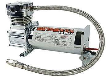 airmaxxx 400 Air Ride Suspension Compressor  Chrome
