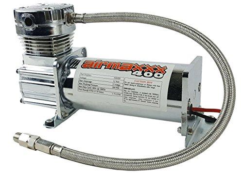 airmaxxx 400 Air Ride Suspension Compressor (Chrome)