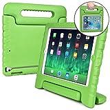 iPad Air2 ケース こども COOPER DYNAMO 子供 かわいい おしゃれ ハンドル 頑丈 丈夫 男の子 女の子 落下 衝撃 保護 軽量 キッズ アイパッド エアー (ピンク)