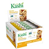 A delicious, feel-good snack, Kashi Chewy Granola Bars are an ideal anytime pick-me-up at home or on-the-go A nutty, nutritious chewy granola bar made with whole grain oats, crunchy almonds, flax seeds, and honey 14 g of whole grain per serving; Good...